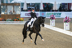 Hayley Watson-Greaves, (GBR), Rubins Nite<br /> CDI3* Grand Prix <br /> Royal Windsor Horse Show - Windsor 2015<br /> © Hippo Foto - Jon Stroud