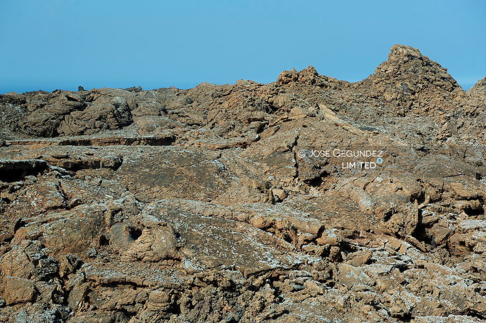 Timanfaya National Park, Lanzarote, Canary Islands. Volcanic Landscape