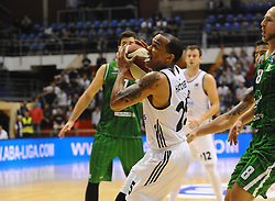 William Hatcher #25 of Partizan during basketball match between KK Partizan Beograd and KK Union Olimpija Ljubljana in Round #5 of ABA League 2016/17, on October 16, 2016 in Beograd, Serbia. Photo by Nebojsa Parausic / Sportida