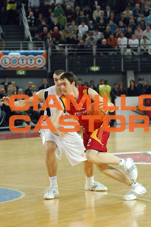 DESCRIZIONE : Roma Eurolega 2007-08 Lottomatica Virtus Roma Partizan Belgrado<br /> GIOCATORE : Erazem Lorbek<br /> SQUADRA : Lottomatica Virtus Roma<br /> EVENTO : Eurolega 2007-2008 <br /> GARA : Lottomatica Virtus Roma Partizan Belgrado<br /> DATA : 16/01/2008<br /> CATEGORIA : Palleggio<br /> SPORT : Pallacanestro <br /> AUTORE : Agenzia Ciamillo-Castoria/E. Grillotti