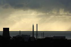 Sellafield nuclear reprocessing plant; Cumbria UK