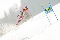 March 9, 2019 - Kranjska Gora, Kranjska Gora, Slovenia - Manuel Feller of Austria in action during Audi FIS Ski World Cup Vitranc on March 8, 2019 in Kranjska Gora, Slovenia. (Credit Image: © Rok Rakun/Pacific Press via ZUMA Wire)