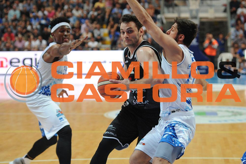 Stefano Gentile<br /> Roseto Sharks - Segafredo Virtus Bologna<br /> Lega Nazionale Pallacanestro 2016/2017<br /> Roseto, 19/05/2017<br /> Foto Ciamillo-Castoria