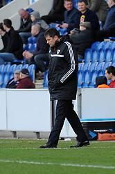 Bristol City manager, Steve Cotterill - Photo mandatory by-line: Dougie Allward/JMP - Mobile: 07966 386802 22/03/2014 - SPORT - FOOTBALL - Colchester - Colchester Community Stadium - Colchester United v Bristol City - Sky Bet League One