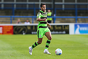Forest Green Rovers Fabien Robert (26) runs with the ball during the Vanarama National League match between Dover Athletic and Forest Green Rovers at Crabble Athletic Ground, Dover, United Kingdom on 10 September 2016. Photo by Shane Healey.