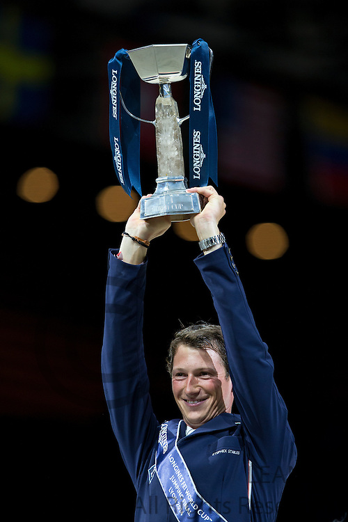 Daniel Deusser - Cornet d'Amour, winner Longines FEI World Cup Final<br /> FEI World Cup Final 2014<br /> &copy; DigiShots
