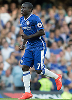 Football - 2016/2017 Premier League - Chelsea V West Ham United. <br /> <br /> Ngolo Kante of Chelsea at Stamford Bridge.<br /> <br /> COLORSPORT/DANIEL BEARHAM