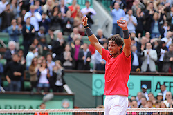 Bildnummer: 10767316  Datum: 11.06.2012  Copyright: imago/PanoramiC..Rafael Nadal (ESP) TENNIS : Roland Garros - Jour 16 - Finale - ATP Tennis Herren - Paris - 11/06/2012 Couvercelle/Tennismag/Panoramic PUBLICATIONxNOTxINxFRAxITAxBEL ; Tennis French Open Paris Grand Slam Sieg Sieger Jubel xdp x0x 2012 quer premiumd....Image number 10767316 date 11 06 2012 Copyright imago Panoramic Rafael Nadal ESP Tennis Roland Garros Jour 16 Final ATP Tennis men Paris 11 06 2012   Panoramic PUBLICATIONxNOTxINxFRAxITAxBEL Tennis French Open Paris Grand Slam Victory Winner cheering  x0x 2012 horizontal premiumd