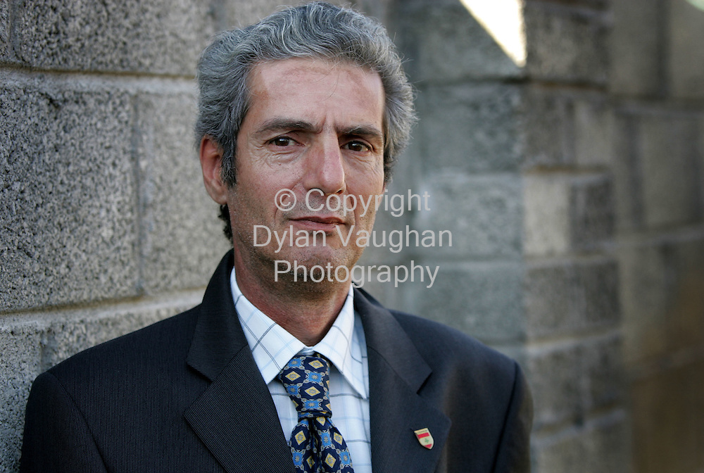 17/7/2006.Mouine Dagher from Lebanon pictured at his home in  Kilkenny..Picture Dylan Vaughan