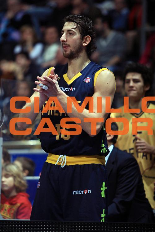DESCRIZIONE : Bologna Lega A1 2008-09 Gmac Fortitudo Bologna Premiata Montegranaro<br /> GIOCATORE : Simone Flamini<br /> SQUADRA : Premiata Montegranaro<br /> EVENTO : Campionato Lega A1 2008-2009 <br /> GARA : Gmac Fortitudo Bologna Premiata Montegranaro<br /> DATA : 08/02/2009 <br /> CATEGORIA : ritratto<br /> SPORT : Pallacanestro <br /> AUTORE : Agenzia Ciamillo-Castoria/G.Livaldi
