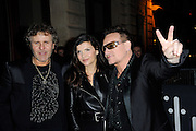 03.MARCH.2013. PARIS<br /> <br /> RENZO ROSSO, BONO AND WIFE ALI HEWSON ATTEND THE DIESEL PARTY HELD IN THE GAITE LYRIQUE AS PART OF THE FALL-WINTER 2013/2014 READY-TO-WEAR FASHION WEEK IN PARIS.<br /> <br /> BYLINE: EDBIMAGEARCHIVE.CO.UK<br /> <br /> *THIS IMAGE IS STRICTLY FOR UK NEWSPAPERS AND MAGAZINES ONLY*<br /> *FOR WORLD WIDE SALES AND WEB USE PLEASE CONTACT EDBIMAGEARCHIVE - 0208 954 5968*