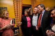 LADY ANTONIA PINTER; FLORA SOROS; ORLANDO FRASER; CHARLES GLASS; LADY ANNABEL LINDSAY, Book launch for American's in Paris by Charles Glass hosted by Lady Annabel Lindsay. Holland Park. London. 25 March 2009 *** Local Caption *** -DO NOT ARCHIVE-© Copyright Photograph by Dafydd Jones. 248 Clapham Rd. London SW9 0PZ. Tel 0207 820 0771. www.dafjones.com.<br /> LADY ANTONIA PINTER; FLORA SOROS; ORLANDO FRASER; CHARLES GLASS; LADY ANNABEL LINDSAY, Book launch for American's in Paris by Charles Glass hosted by Lady Annabel Lindsay. Holland Park. London. 25 March 2009