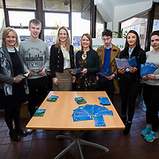 06.02.2018.         <br /> The Minister for European Affairs Helen McEntee TD will visit UL to outline the EU career opportunities open to UL graduates. <br /> <br /> Pictured during the visit were, Patrice Twomey, Director of CECD, Jack O'Connor, Student, The Minister for European Affairs Helen McEntee TD, Helen Kelly Holmes, UL, Daniel, Lynch, Student, Grainne Cahil, Student and Caitlin Nolan, Student.<br /> <br /> The address is part of a special seminar arranged by EU Jobs Ireland, which will also include presentations by experts from the European Parliament and the Department of the Taoiseach. It&rsquo;s your chance to learn about the range of careers on offer in the EU, how the recruitment process works. The seminar is free and open to all UL students, graduates and staff. Picture: Alan Place