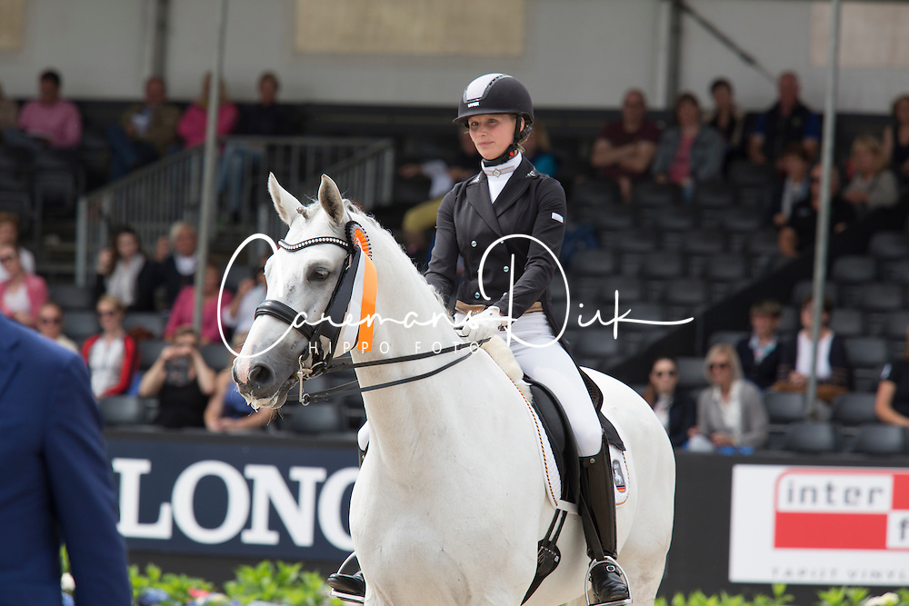 Knoll Ines, GER, FBW Fairplay H<br /> World Championship Young Dressage Horses <br /> Ermelo 2016<br /> © Hippo Foto - Leanjo De Koster<br /> 29/07/16