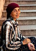 Romanian Beggar, Prague, Czech Republic