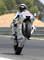 20091003: ESTORIL, PORTUGAL - Moto GP 2009 - Portugal Grand Prix: Qualifying. In picture: Jorge LORENZO - MotoGP. PHOTO: Alvaro Isidoro/CITYFILES