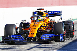 February 26, 2019 - Barcelona, Catalonia, Spain - Lando Norris McLaren during F1 test celebrated at Circuit of Barcelona 26th February 2019 in Barcelona, Spain. (Credit Image: © Mikel Trigueros/NurPhoto via ZUMA Press)