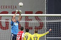 20111103 Braga: SC Braga vs. NK Maribor, UEFA Europa League, Group H, 4th round. In picture: A save by Maribor keeper Hnadanovic. Photo: Pedro Benavente/Cityfiles