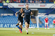 Morgan Fox of Sheffield Wednesday warming up for the EFL Sky Bet Championship match between Sheffield Wednesday and Bristol City at Hillsborough, Sheffield, England on 22 April 2019.