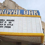 The art-deco theater originally opened as the Kunsky Royal Oak in 1928. It has served as a movie palace for most of its life until the later half of the 20 Century when it became known as a popular performance venue.