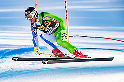 15.12.2016, Saslong, St. Christina, ITA, FIS Ski Weltcup, Groeden, Abfahrt, Herren, 1. Training, im Bild Rok Perko (SLO) // Rok Perko of Slovenia in action during the 2nd practice run of men's Downhill of FIS Ski Alpine World Cup at the Saslong race course in St. Christina, Italy on 2016/12/15. EXPA Pictures © 2016, PhotoCredit: EXPA/ Johann Groder