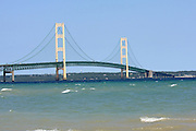 Another look at the beautiful Mackinac Bridge, from Gary B. Williams Park in Mackinaw City, Michigan.