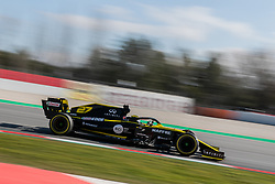 February 18, 2019 - Montmelo, BARCELONA, Spain - Circuit de Barcelona Catalunya, BARCELONA, 18 of february 2019. Hülkemberg driver of Renault  during the first day of Test at Circuit de Barcelona Catalunya (Credit Image: © AFP7 via ZUMA Wire)