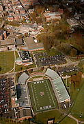 Aerial view of Peden Stadium. © Ohio University