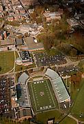 Aerial view of Peden Stadium. © Ohio University