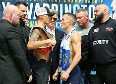 Lee Selby v Josh Warrington - Weigh-In - 18 May 2018