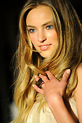 """Uitreiking van de Dutch Model Awards  in Hotel Okura Amsterdam.<br /> <br /> Op de foto: De 15-jarige Ymre Stiekema is  uitgeroepen tot Dutch Model Of The Year. De jury heeft alle vertrouwen in het piepjonge model. """"Wij hebben hoge verwachtingen van haar en denken nog veel van haar te horen in de internationale modewereld"""", luidde de motivatie. Stiekema eindigde vorige maand tijdens de internationale modellenwedstrijd Elite Model Look in Praag op de tweede plaats. in"""