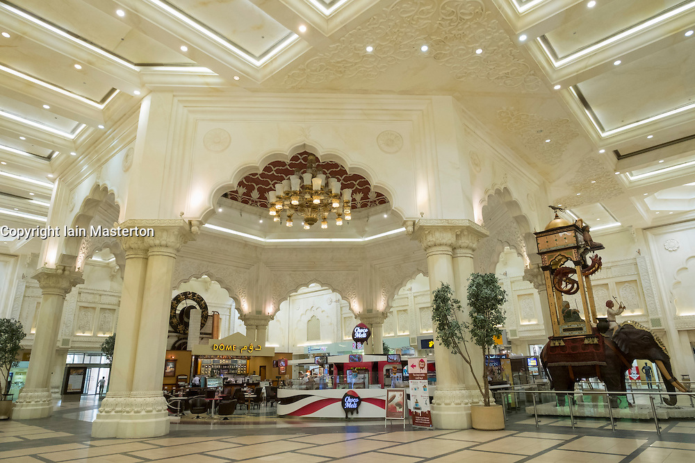 India Court at Ibn Battuta shopping mall in Jebel Ali district Dubai United Arab Emirates