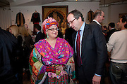 CAMILLA BATMANGHELIDJ ; ALEXANDER VON STRAUBENZEE;, The Volunteer, A fundraiser for a school project in Uganda. The Henry Von Straubenzee Memorial Fund, <br /> Few And Far, 242 Brompton Road, London SW3, 11 February 2010.