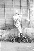 Robert Alcorn laughing, High Wycombe, UK. 1980s.
