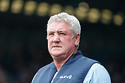 Steve Bruce of Sheffield Wednesday during the EFL Sky Bet Championship match between Sheffield Wednesday and Bristol City at Hillsborough, Sheffield, England on 22 April 2019.