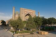 Mosque at the Registan, Samarkand, Uzbekistan