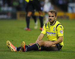 Birmingham City's Andrew Shinnie  - Photo mandatory by-line: Alex James/JMP - Tel: Mobile: 07966 386802 27/08/2013 - SPORT - FOOTBALL - Huish Park - Yeovil - Yeovil Town V Birmingham City -  Capital One Cup - Round 2