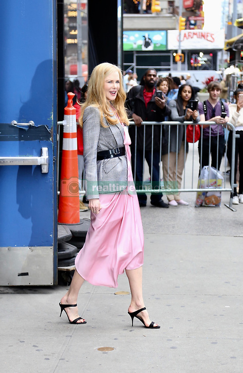 Nicole Kidman at Good Morning America. . 29 May 2019 Pictured: Nicole Kidman . Photo credit: Joe Russo / MEGA TheMegaAgency.com +1 888 505 6342