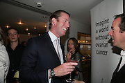 Rory Fleming, The Eve Appeal Dinner, Nobu London,  Dinner in aid of Eve Appeal, Gynaecology Cancer Research Fund, 3 September 2007. -DO NOT ARCHIVE-© Copyright Photograph by Dafydd Jones. 248 Clapham Rd. London SW9 0PZ. Tel 0207 820 0771. www.dafjones.com.