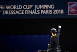 Werth Isabell, GER, Weihegold OLD<br /> LONGINES FEI World Cup™ Finals Paris 2018<br /> © Hippo Foto - Dirk Caremans<br /> 14/04/2018