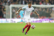 England Defender Kyle Walker during the FIFA World Cup Qualifier group stage match between England and Scotland at Wembley Stadium, London, England on 11 November 2016. Photo by Phil Duncan.
