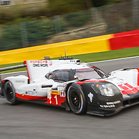 #1,  Porsche Team, Porsche 919 Hybrid, driven by Neel Jani, Andre Lotterer, Nick Tandy at WEC 6 Hours of Spa-Francorchamps 2017, Spa-Francorchamps race circuit, on 06.05.2017