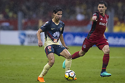 April 9, 2018 - Mexico City, MEXICO CITY, Mexico - Diego Lainez of Club America during 2018 CONCACAF Champions League Semifinals, Leg 2 match between Club America and Toronto FC at Azteca Stadium in Mexico City, Mexico on 10 April, 2018. (Credit Image: © Ernesto Perez/NurPhoto via ZUMA Press)