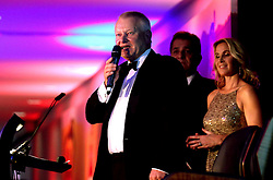 Bristol Sport Founder Steve Lansdown concludes proceedings at Bristol Sport's Annual Gala Dinner at Ashton Gate Stadium - Mandatory by-line: Robbie Stephenson/JMP - 08/12/2016 - SPORT - Ashton Gate - Bristol, England  - Bristol Sport Gala Dinner