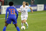 20 October 2014: Kelley O'Hara (USA) (5). The United States Women's National Team played the Haiti Women's National Team at RFK Memorial Stadium in Washington, DC in a 2014 CONCACAF Women's Championship Group A game, which serves as a qualifying tournament for the 2015 FIFA Women's World Cup in Canada. The U.S. won the game 6-0.