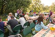 The annual garden party at the Child Development Center. Photo By Ben Siegel/ Ohio University