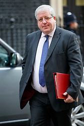 © Licensed to London News Pictures. 27/01/2015. LONDON, UK. Transport Secretary Patrick McLoughlin attending to a cabinet meeting in Downing Street on Tuesday, 27 January 2015. Photo credit: Tolga Akmen/LNP