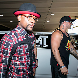 Floyd Mayweather vs. Conor McGregor Grand Arrivals