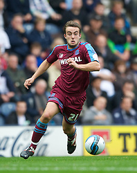 PRESTON, ENGLAND - Saturday, September 24, 2011: Tranmere Rovers' Jose Baxter in action against Preston North End during the Football League One match at Deepdale. (Pic by Dave Kendall/Propaganda)