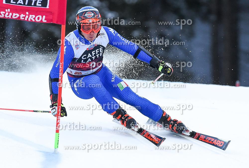 17.12.2017, Grand Risa, La Villa, ITA, FIS Weltcup Ski Alpin, Alta Badia, Riesenslalom, Herren, 1. Lauf, im Bild Florian Eisath (ITA) // Florian Eisath of Italy in action during his 1st run of men's Giant Slalom of FIS ski alpine world cup at the Grand Risa in La Villa, Italy on 2017/12/17. EXPA Pictures © 2017, PhotoCredit: EXPA/ Erich Spiess